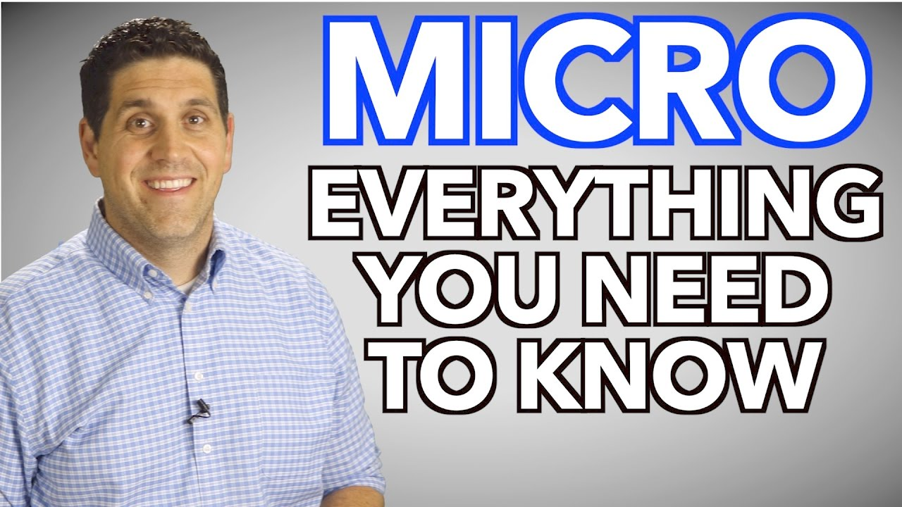 Download Microeconomics- Everything You Need to Know