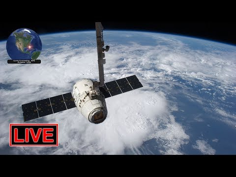 LIVE: Rendezvous & capture of Dragon cargo module at the ISS!