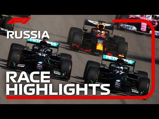 Grand Prix de Russie 2020: les meilleurs moments