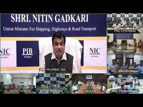 Video link press conference of Union Minister Shri. Nitin Gadkari