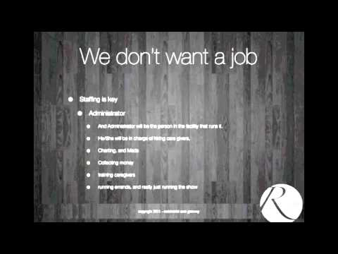 You Don't Want A Job: Hiring Tips For RCFE Investing 4/6