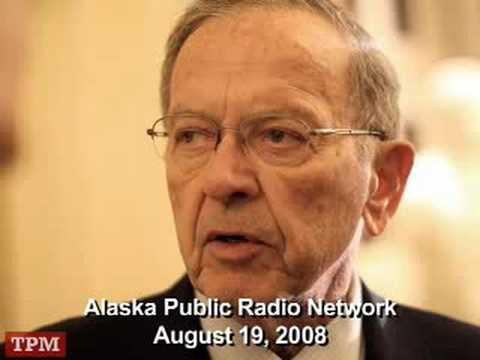 "Senator Ted Stevens (R-AK) on ""Talk of Alaska"" Radio"