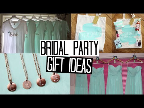 Wedding Gift Guide Suggestions : Bridal Party Gift IdeasPart 1 Wedding Inspiration Series