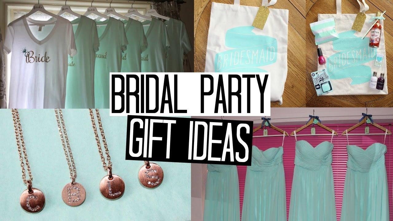 Bridal Party Gift Ideas - Part 1
