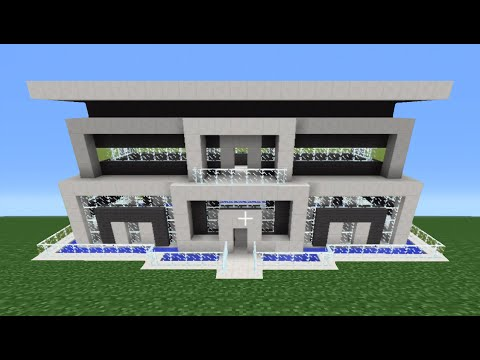 Minecraft Tutorial: How To Make A Quartz House - 10