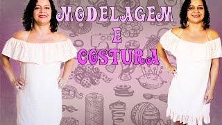 Modelagem e Costura: VESTIDO OMBRO A OMBRO