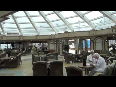 Cunard queen elizabeth ship a tour of the interiors and main rooms youtube for Queen elizabeth 2 ship interior