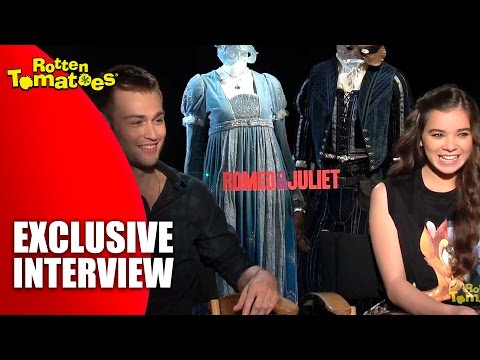 Douglas Booth And Hailee Steinfeld - Exclusive 'Romeo & Juliet' Interview (2013)