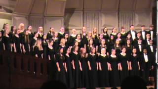 "TWHS Varsity Mixed Choir 2014 ""Zum Gali, Dance the Hora"""