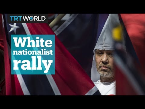 White nationalists rally in Charlottesville