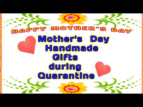 Mother S Day Gifts During Lockdown Mother S Day Gifts Ideas Youtube