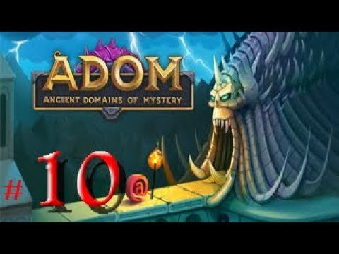 ♦ ADOM (Ancient Domains Of Mystery) ♦ #10│Roguelike│Escapelo de Mithril
