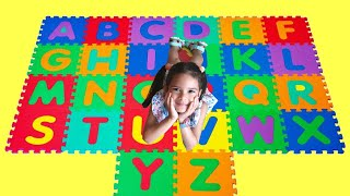 ABC Song Learn English Alphabet For Children with Nursery Rhymes and kids W/ Sam
