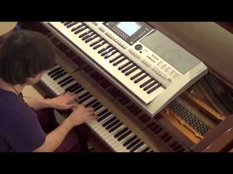 Christina Aguilera - Let there be Love piano & keyboard synth cover by LiveDjFlo