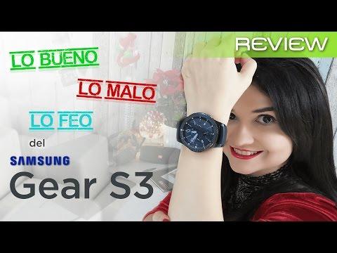 Samsung Gear S3 review en español (análisis y opiniones)... el mejor smartwatch?