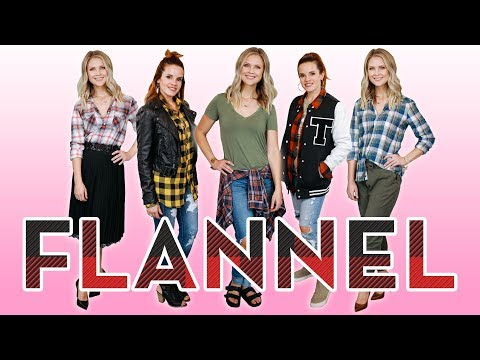 5 Ways To Turn Your Flannel Into A Fashion Statement!