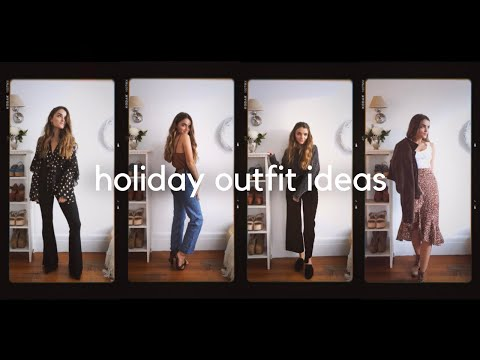 Holiday Outfit Ideas ✨