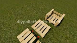 Garden Armchair Made Of Pallets