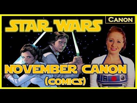 Star Wars Canon for November (Comics)