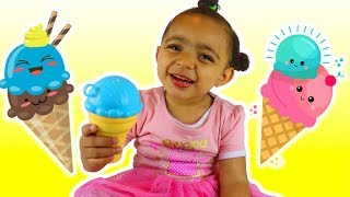 Ice Cream Song   Leah's Play Time Nursery Rhymes & Kids Songs