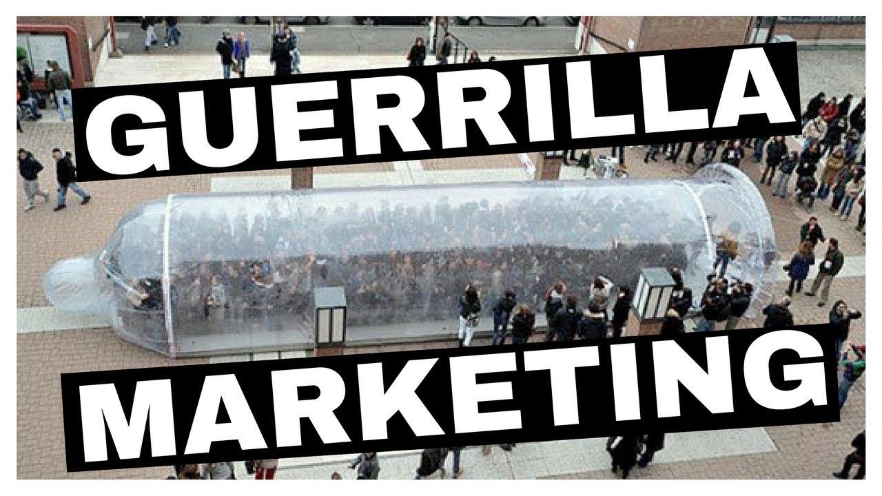 نتيجة بحث الصور عن Guerrilla Marketing