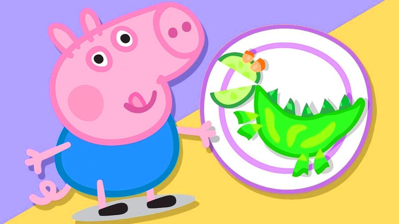 Peppa Pig Official Channel   Lunch