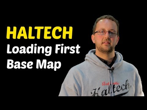 Haltech DIY: How to load your first basemap - YouTube on