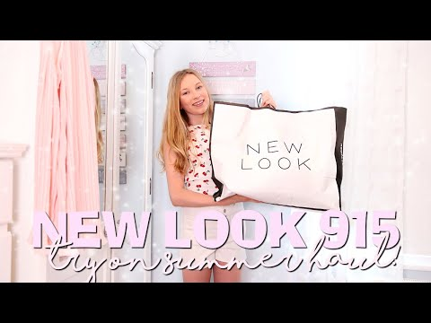 NEW LOOK 915 GIRLS HAUL! | Coco's World