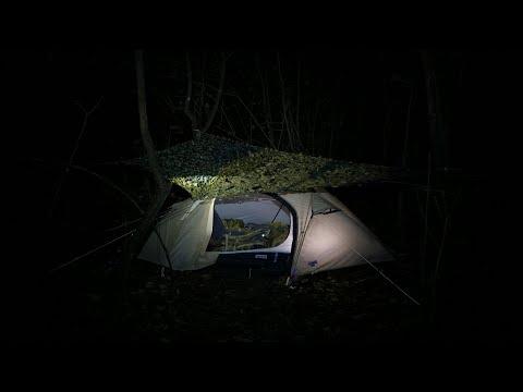 Stealth Camping im Auwald - gucken ob jemand guckt?