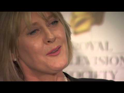 Sarah Lancashire wins best Actor - Female at the RTS Programme Awards