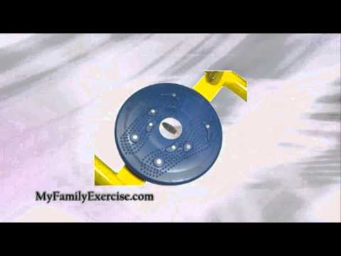 Twister Exercise Machine Review - Fitness Equipment For Kids