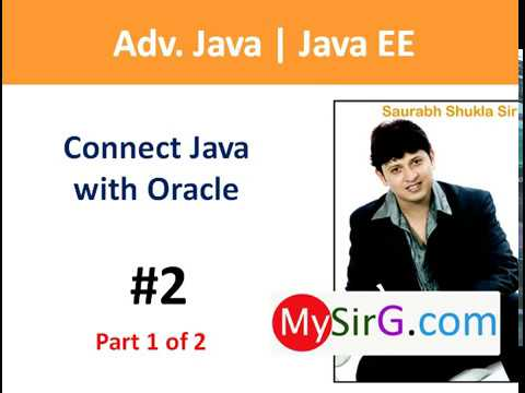 #2 JDBC Connect Java with oracle part 1 of 2