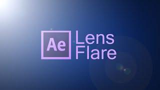 Краткий обзор эффекта Lens Flare |Adobe After Effects cs6|