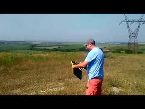 Archeological mapping with eBee drone
