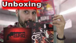 Unboxing Juego y guía Deluxe Read dead redemption 2