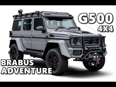 brabus mercedes g500 4x4 adventure 2018 youtube. Black Bedroom Furniture Sets. Home Design Ideas
