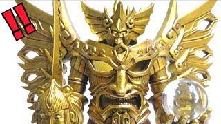 【覚醒巨神ヴィジランティス】玩具デザイナー野中剛さんが手がけたヴィジランティスがすごい!ヲタファのレビュー / Vigilantis Gold ver.