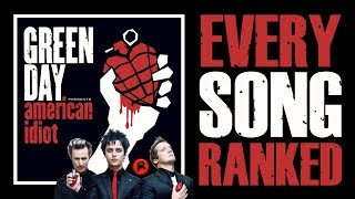 RANKED | GREEN DAY - AMERICAN IDIOT (2004)