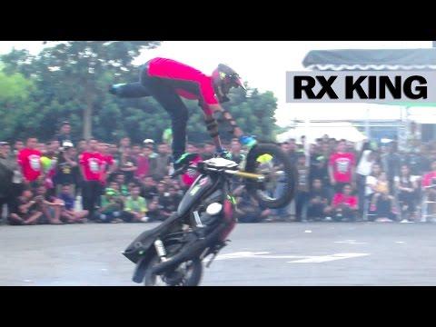 Freestyle Motor RX KING Kelas Profesional By Freak Riders Jogja (Jogja Bike Festival) JBF