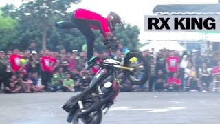 Freestyle Motor RX KING Kelas Profesional by Freak Riders Jogja (Jogja Bike Festival) JBF