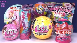 Pikmi  LOL Series 4 Orbeez Pop Teenies Surprise Toys Unboxing Confetti Squish Dee Lish 5