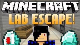The Breakout Begins [Minecraft: Lab Escape! Part 1]