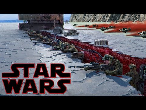 Crait During The Galactic Civil War Era & Everything About It  Star Wars Explained