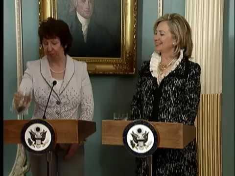Remarks With EU High Representative Lady Catherine Ashton