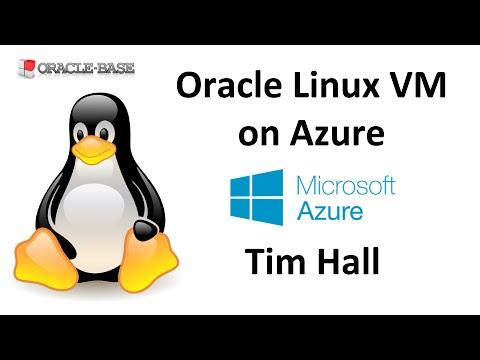 machine oracle linux