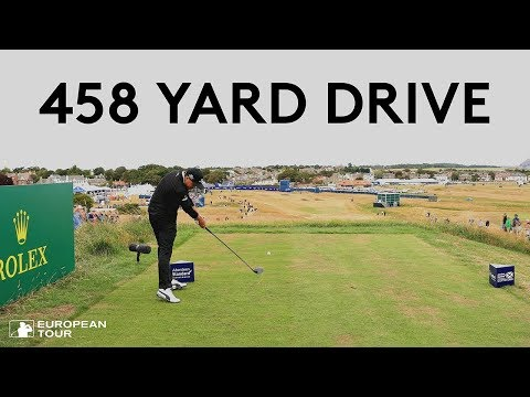 Rickie Fowler hits 458-yard drive in Scotland