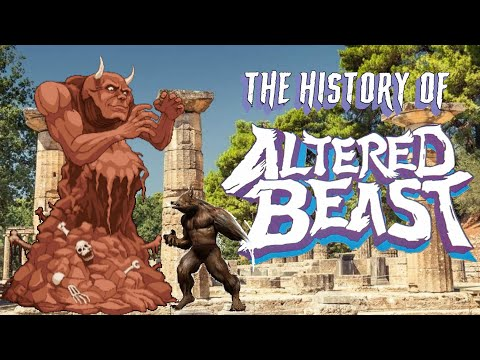 The History Of Altered Beast Remastered 2020 Edition – Arcade Console Documentary