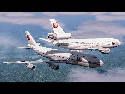 Terror Over Japan | Boeing 747 Almost Crash with a DC-10 | Japan Airlines Mid-Air Incident