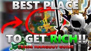 This ROBLOX Game Gets You RICH!! (BEST Trade Hangout Tips!) - Linkmon99's Guide To ROBLOX Riches #7