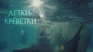 Детки-креветки #ГРУДНИЧКОВОЕ ПЛАВАНИЕ В МОСКОВСКОМ #P-ONLINE